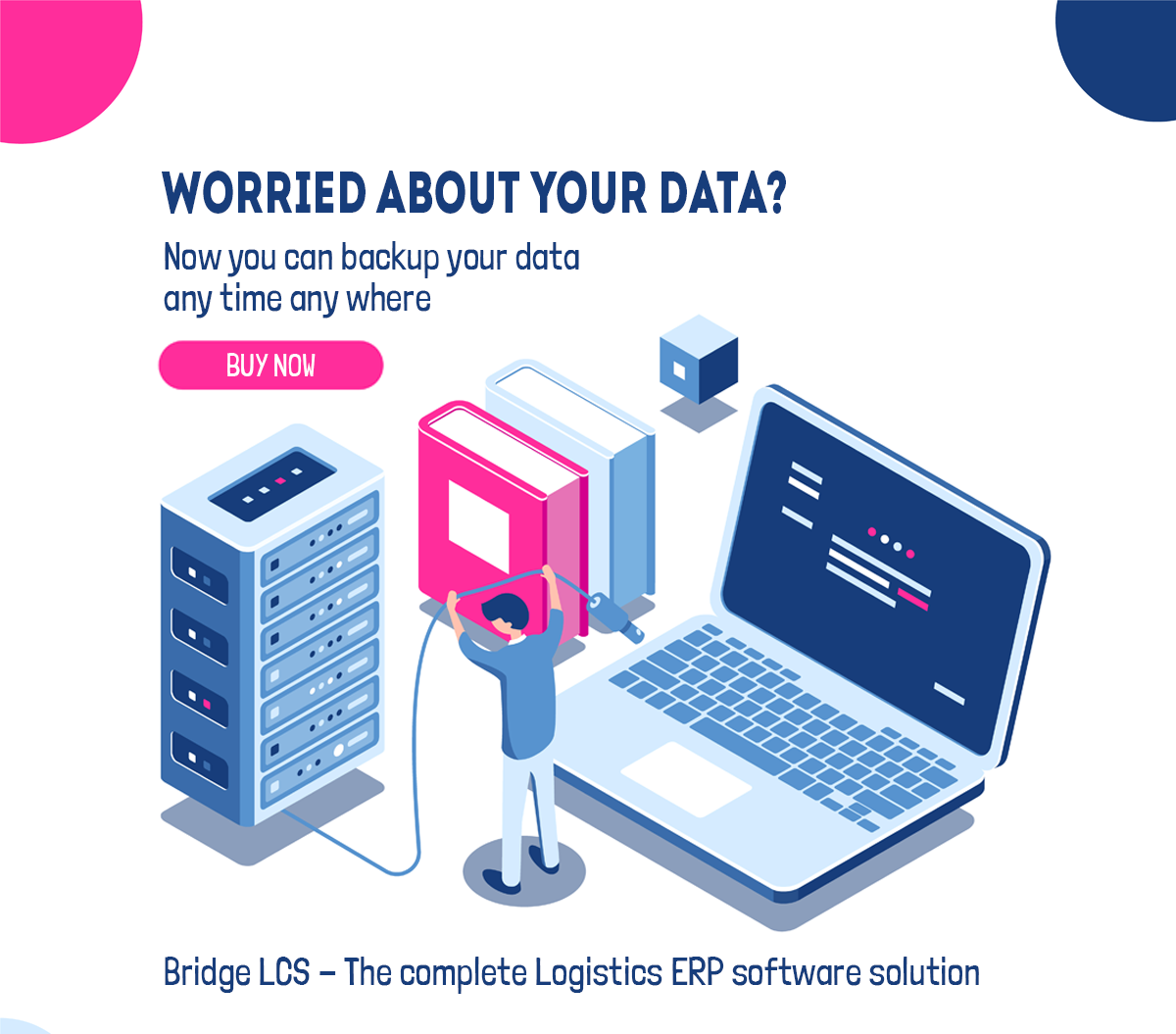 Bridge LCS ERP software new version backup