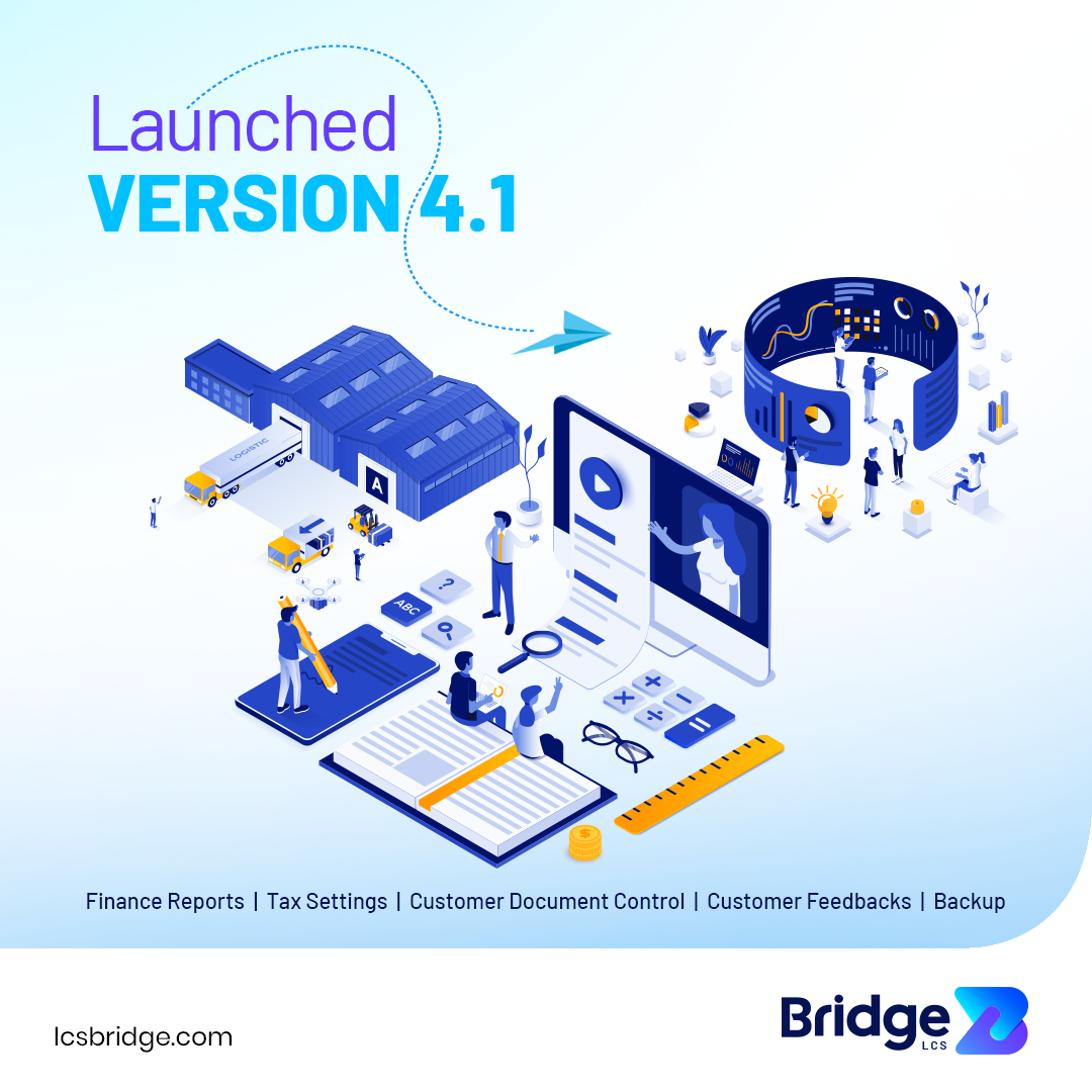 Bridge LCS ERP software new version launched
