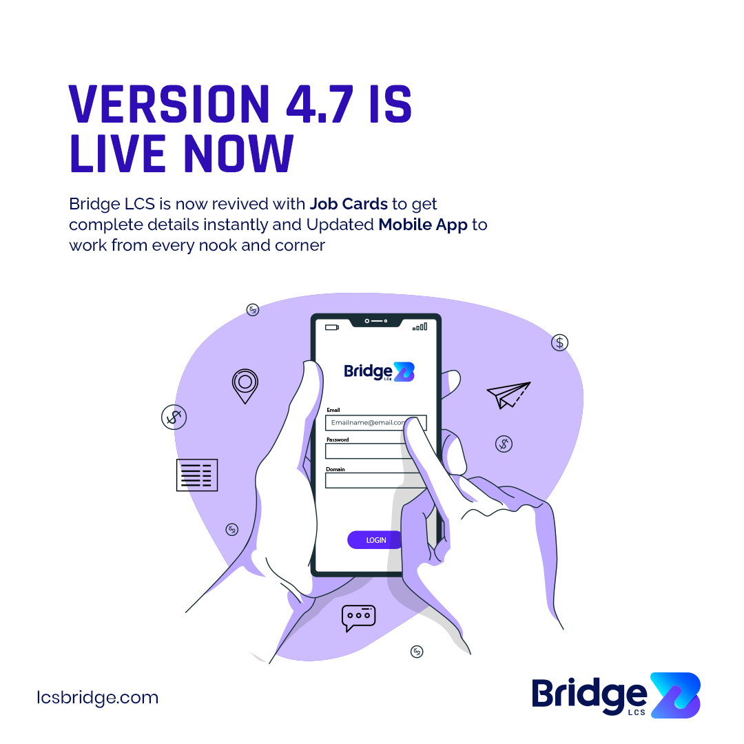 Bridge LCS Freight Software New Version 4.7