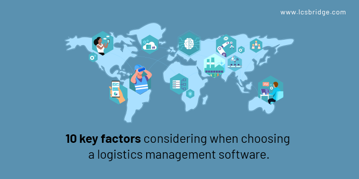 10 Key modules should be looked for in Logistics Management Software(2021)