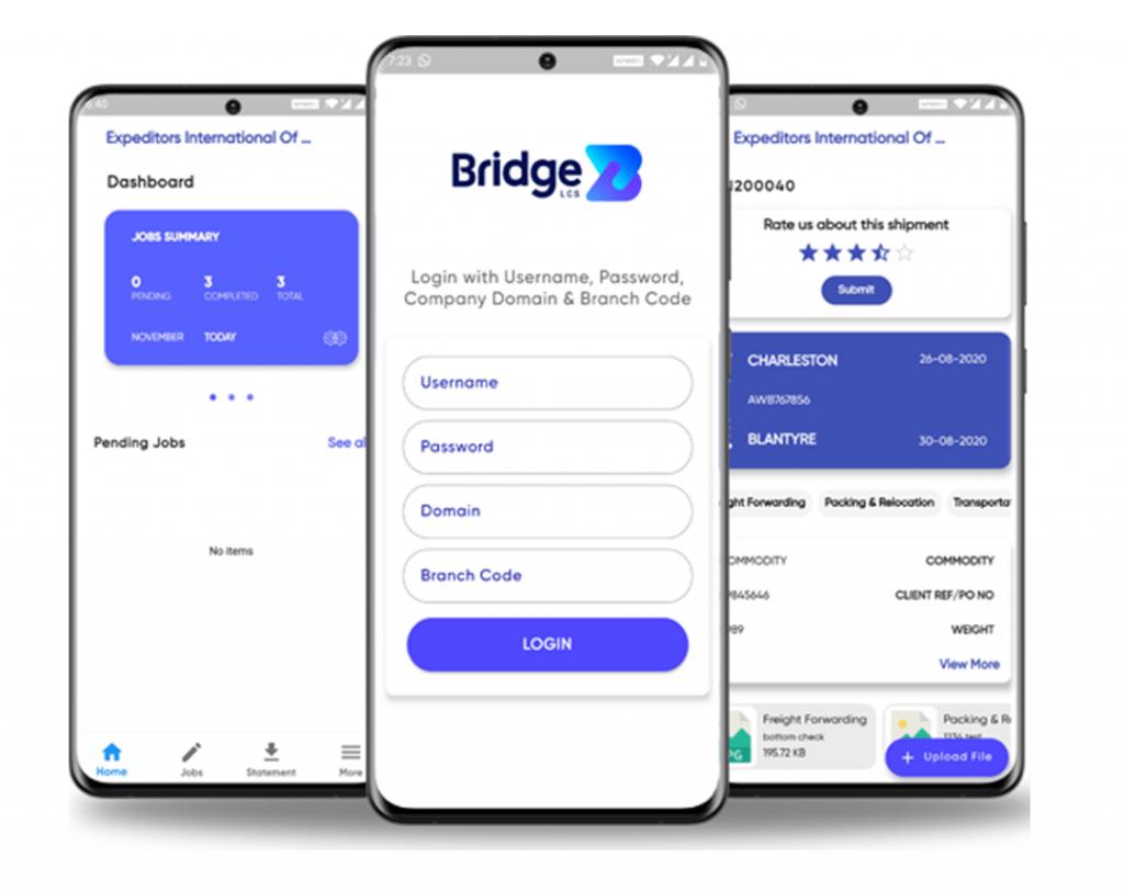 Mobile Application for Logistics Software